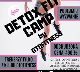 !DETOX FIT CAMP by Otofitness